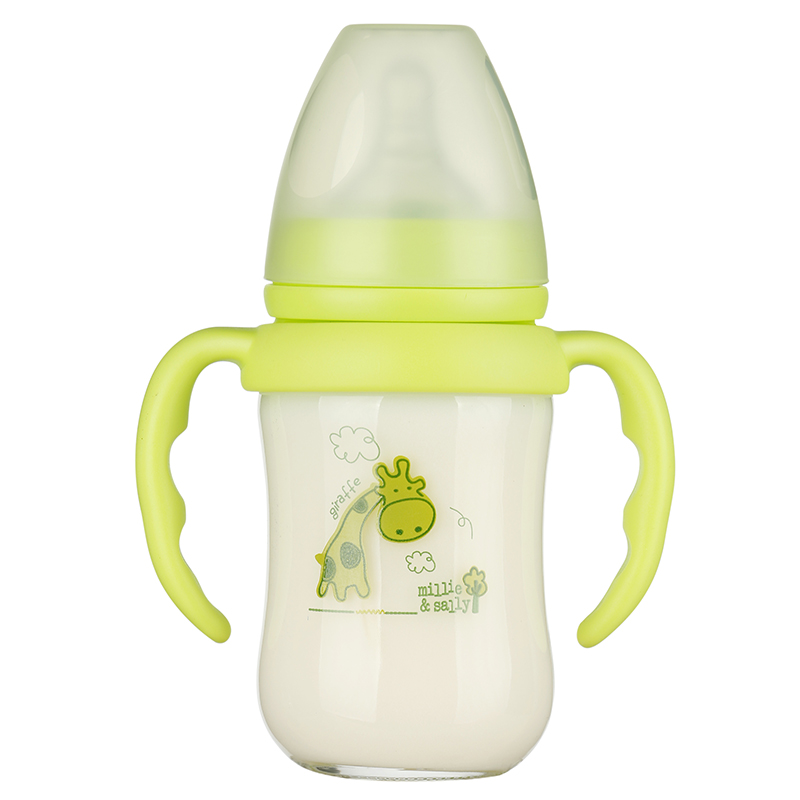 Eco Friendly Baby Bottle Giraffe Labels