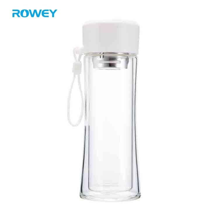 custom glass water bottle