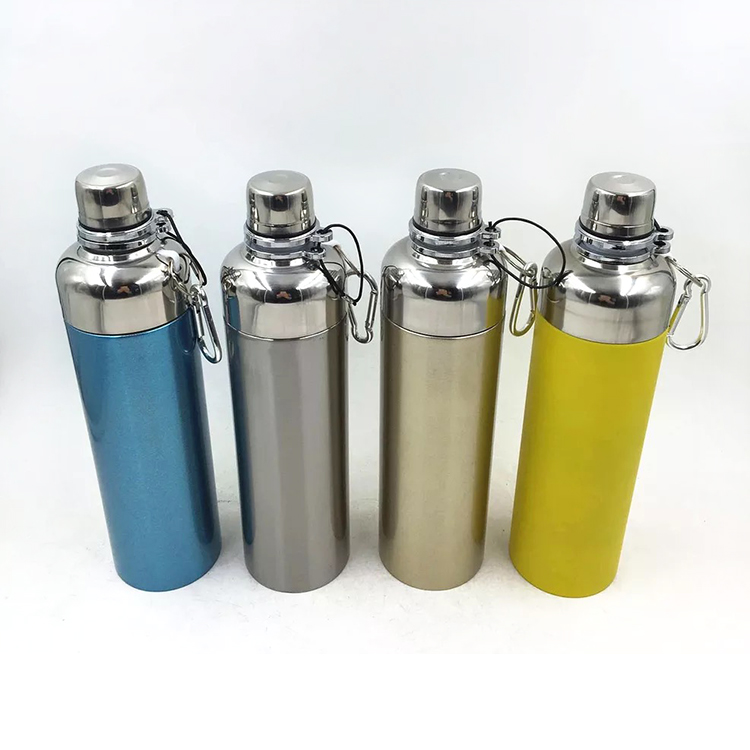 500ml double wall 304 stainless steel vacuum flask sport water bottle