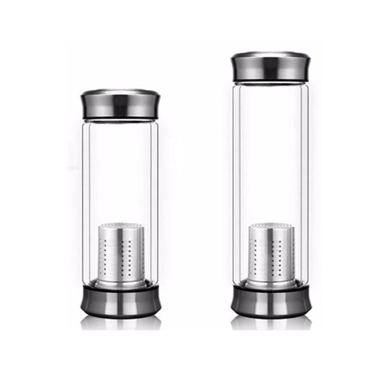 Double Custom Wall Infuser Glass Water Bottle