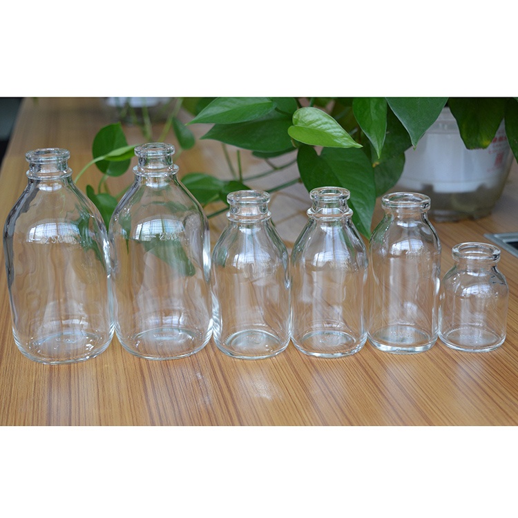 injection glass bottles