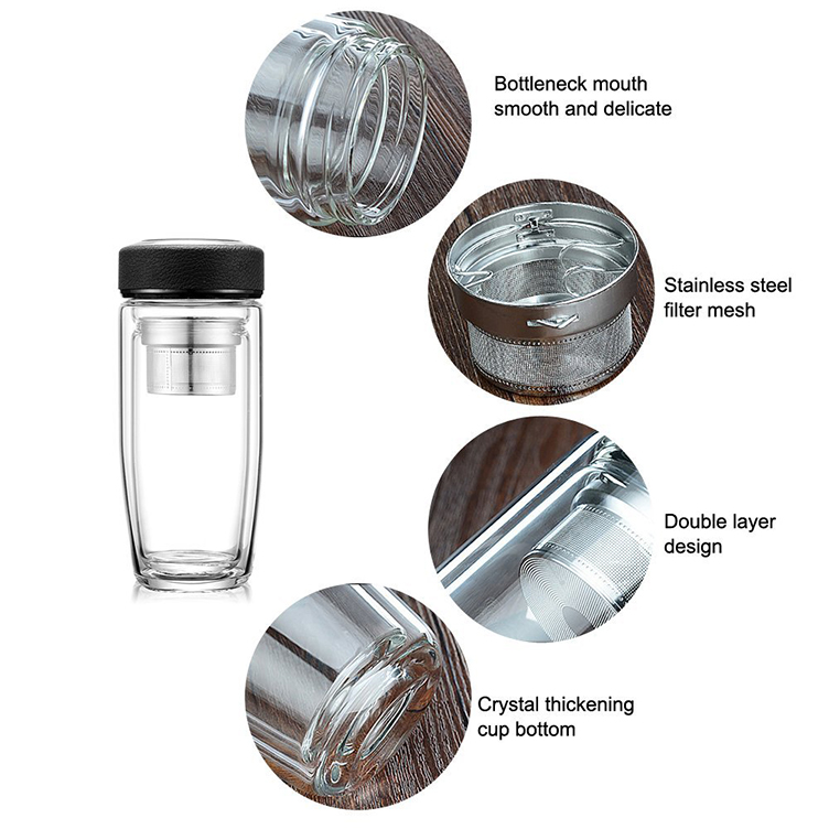 reusable water bottle glass