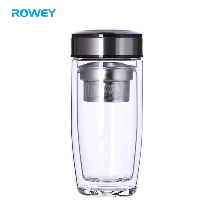 portable glass water bottles